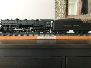 Lionel Train Locomotive 5344 and YORK CENTRAL tender pair plus track 8