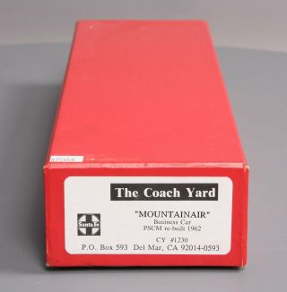 The Coach Yard 1230 HO BRASS Plated