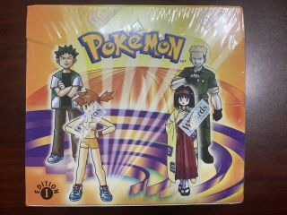 1st Edition Pokemon Gym Heroes Trading Card Game 36 Pack Booster Box Wotc