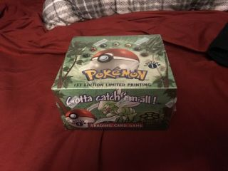 Pokemon Jungle Booster Box - 1st Edition - Wizards Wotc Cards -