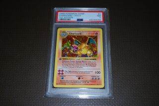 Psa 7 Nr 1st Edition Shadowless Base Set 1 Charizard Holo No 4/102