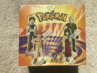 Pokemon Gym Heroes Wotc Booster Box