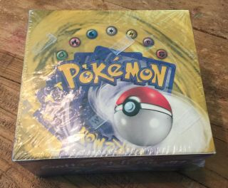 1999 Pokemon Base Set Booster Box Green Wing Charizard One Country Code