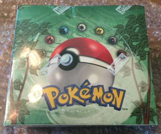 One Box Of Pokemon Jungle Unlimited Edition Factory Booster Box