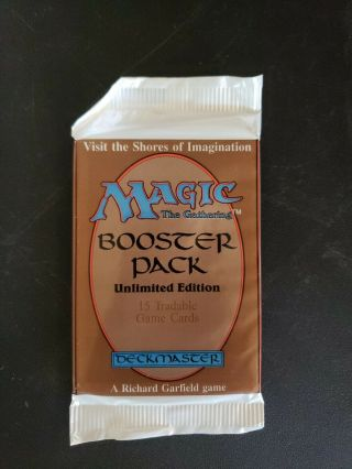 Magic The Gathering Mtg Unlimited Booster Pack Unsearched