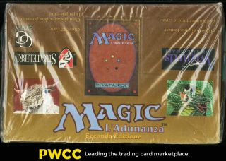 1994 Magic The Gathering Mtg Italian Revised Booster Box,  36ct Packs (pwcc)