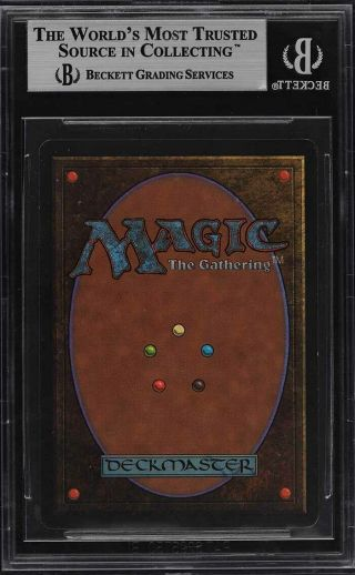 1993 Magic The Gathering MTG Beta Mox Sapphire R A BGS 9 (PWCC) 2