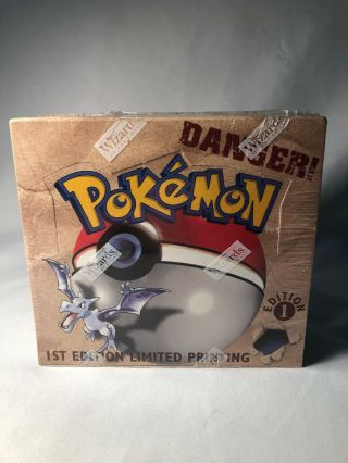 Factory Fossil 1st Edition Booster Box Pokemon Nm/m English Tcg