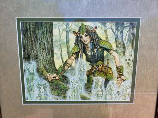 Mtg Art Herritage Druid Painting Artwork Magic Gathering