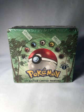 Pokemon 1st Edition Jungle Booster Box English Factory