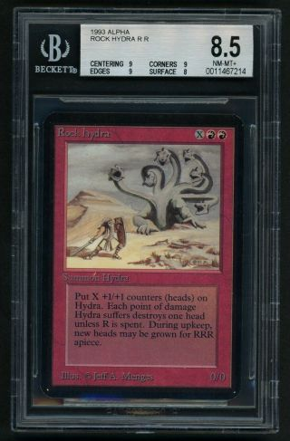 Bgs 8.  5 Alpha Rock Hydra Mtg Alpha - Kid Icarus -