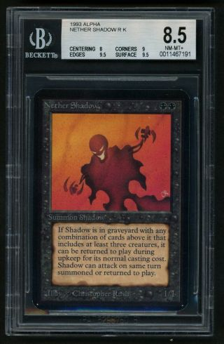 Bgs 8.  5 Alpha Nether Shadow Mtg Alpha - Kid Icarus -