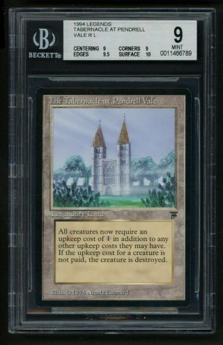 Bgs 9 The Tabernacle At Pendrell Vale (quad, ) Mtg Legends - Kid Icarus -