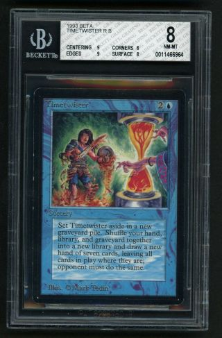 Bgs 8 Beta Timetwister Mtg Beta Power 9 - Kid Icarus -