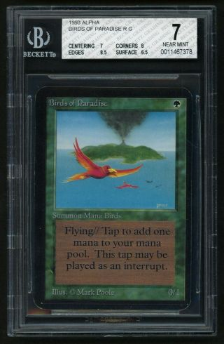 Bgs 7 Alpha Birds Of Paradise Mtg Alpha - Kid Icarus -