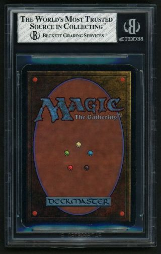 BGS 8 Alpha Mox Pearl (Quad, ) MTG Alpha Power 9 - Kid Icarus - 2
