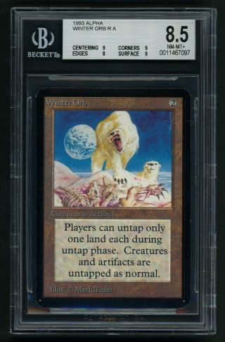 Bgs 8.  5 Alpha Winter Orb Mtg Alpha - Kid Icarus -