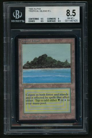 Bgs 8.  5 Alpha Tropical Island Mtg Alpha - Kid Icarus -