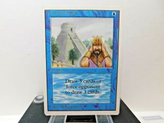 Ancestral Recall Unlimited 1x Magic The Gathering Mtg Lp/mp Cond L@@k