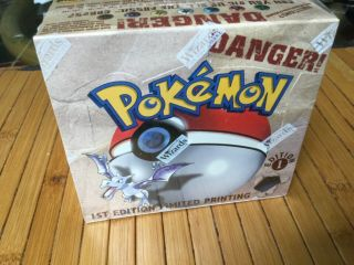 Pokémon Fossil 1st Edition Booster Box (36 Packs)