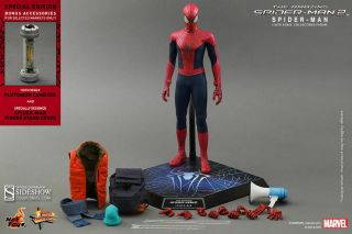 Hot Toys The Spider - Man 2 1/6 Scale Mms244 Special Exclusive Edition