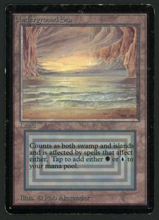 1x Beta Underground Sea Mtg Beta - Kid Icarus -