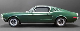 1968 Bullitt Ford Mustang By Gt Spirit In 1:12 Scale Resin Le Mib