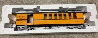 Accucraft Combine D&rgw Bumble Bee 1:20.  3