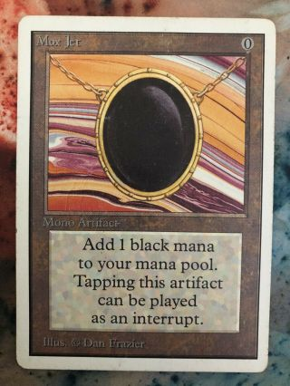 1x Unlimited Mox Jet Mtg Unlimited Power 9 - Iamthepassenger777
