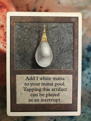 1x Unlimited Mox Pearl Mtg Unlimited Power 9 - Iamthepassenger777