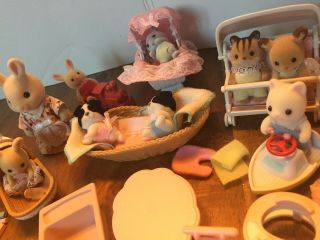 """Calico Critters Toys """"baby Nursery"""" Set,  Critters"""