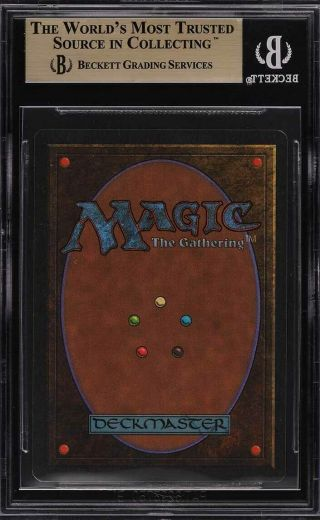 1993 Magic The Gathering MTG Unlimited Timetwister R B BGS 9.  5 GEM (PWCC) 2