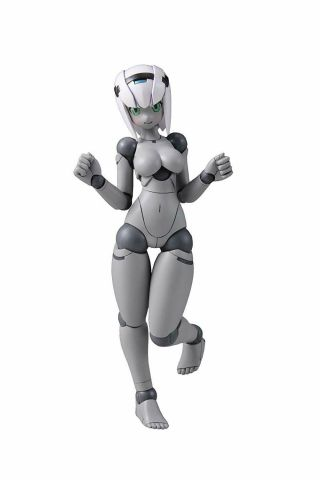 Daibadi Production Polynian Fmm Clover Gray Fresh Ver.  Action Figure Japan