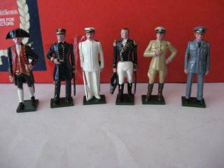 Tradition Toy Soldiers U S Naval Officers Special Limited Edition Set 123