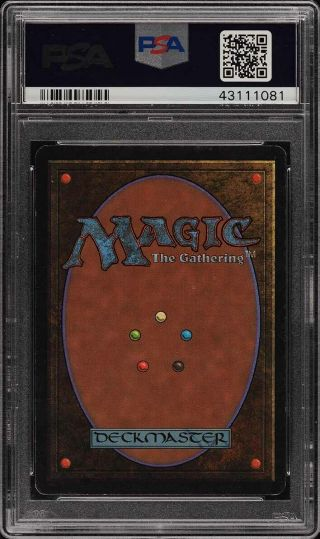 1993 Magic The Gathering MTG Beta Black Lotus R A PSA Altered (PWCC) 2