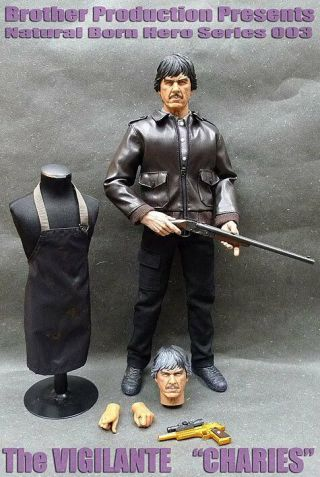 "Hot Brother Production - Death Wish "" Charles Bronson 1/6 Action Figure Toys"