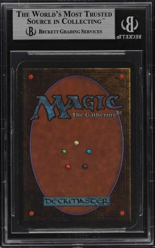 1993 Magic The Gathering MTG Alpha Chaos Orb R A BGS 9 (PWCC) 2