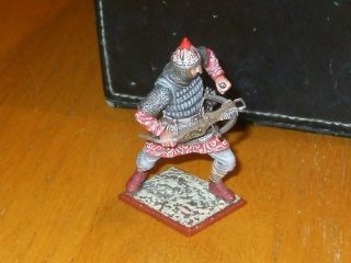 St.  Petersburg Ancient Warrior Crossbowman Loading Bow Toy Soldiers