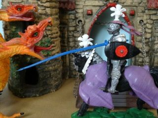 Britains Swoppet Knight 1451,  Mounted Charging With Lance,  Uk,  Toy Soldiers