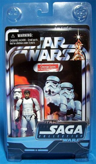 Star Wars Ugh Ultra Rare George Lucas In Stormtrooper Disguise.  Misc