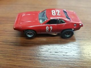 Aurora Afx 1762 Plymouth Road Runner Ho Scale Slot Car 82