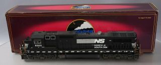 Mth 20 - 2644 - 1 Norfolk Southern Ns Dash - 8 Weathered With Proto 2.  0 Hi - Rail Lionel