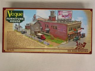 Rail Scale Miniatures 004 Ho Scale Vogue Furniture House Craftsman Kit