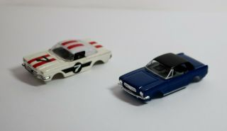 Aurora,  And Jl - Ho Slot Car Bodies - Two For One Great Price