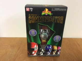 Mighty Morphin Power Rangers Legacy Communicator Opened Complete Perfect