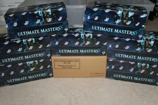 Ultimate Masters Booster Box - Mtg - Factory - With Topper