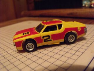Afx Nascar 2 In Orange And Yellow