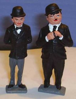 Toy Soldiers Comedy Actors Laurel & Hardy The Flying Deuces 54 Mm