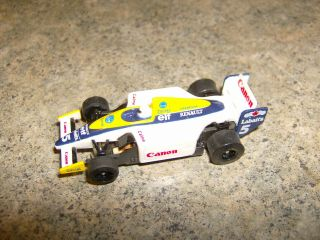 Tomy Afx 5 Renault Elf Canon Indy G,  Chassis Ho Slot Car
