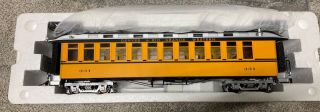 Accucraft 1:20.  3 Coach D&rgw Bumble Bee 331